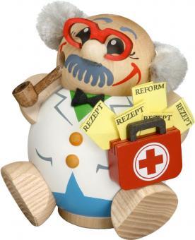 Kugelräuchermann Doktor/Arzt