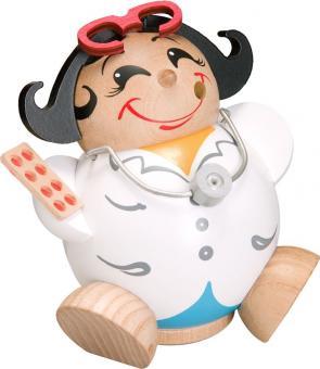 Kugelräucherfrau Ärztin
