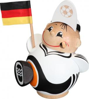 Kugelräuchermann Deutscher Fussballfan