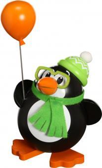 Kugelräucherfigur Pinguin