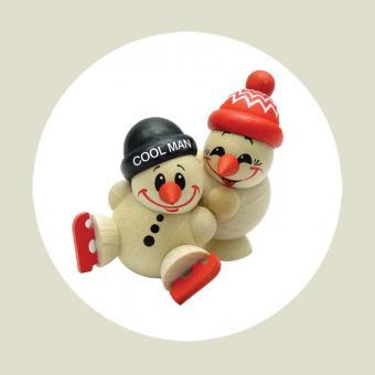 Cool Man - Fritz & Freddy beim Eislauf