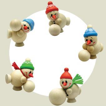Cool Man Junior Schneekugelroller 5-er Satz