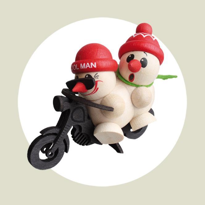 Cool Man Motorrad mit Sozius