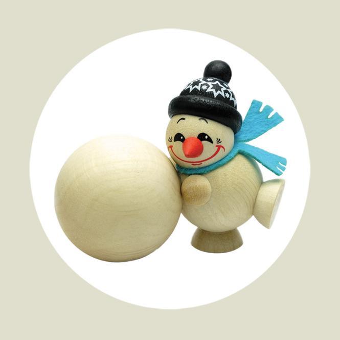 Cool Man Schneekugelroller
