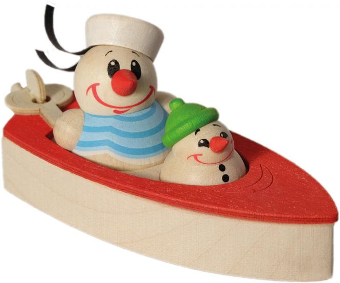 Cool Man - Süßwassermatrose im Motorboot